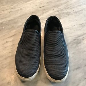 Men's Vince Slip-On Leather Sneakers (Size 11)